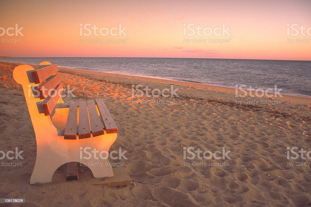 South Cape Sunset royalty-free stock photo
