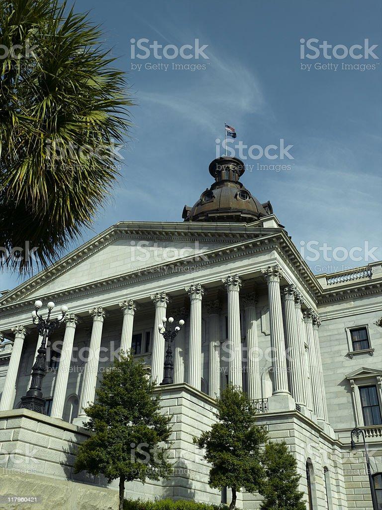 South Carolina Capital royalty-free stock photo