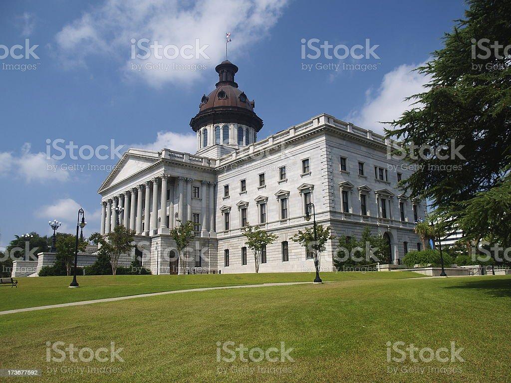 South Carolina Capitol royalty-free stock photo