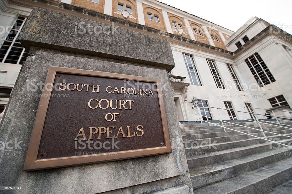 South Carolina Court of Appeals in Columbia royalty-free stock photo