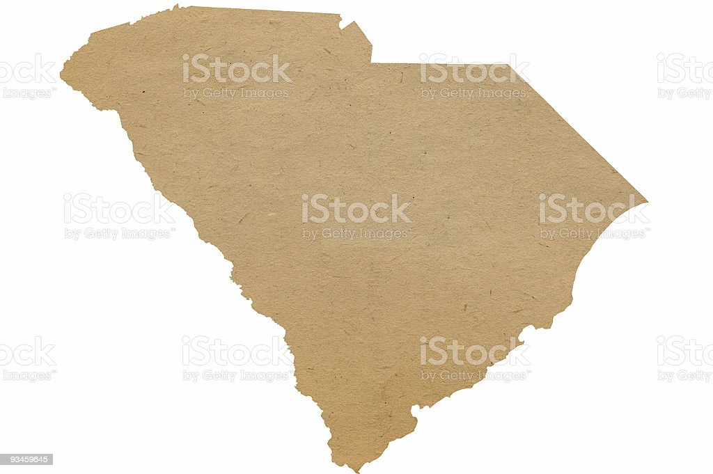 South Carolina Recycles stock photo
