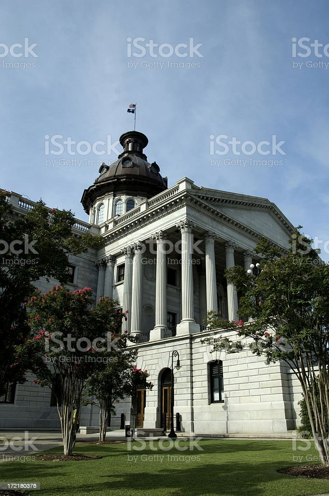 South Carolina State Capitol royalty-free stock photo