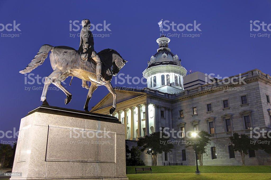 South Carolina State House royalty-free stock photo