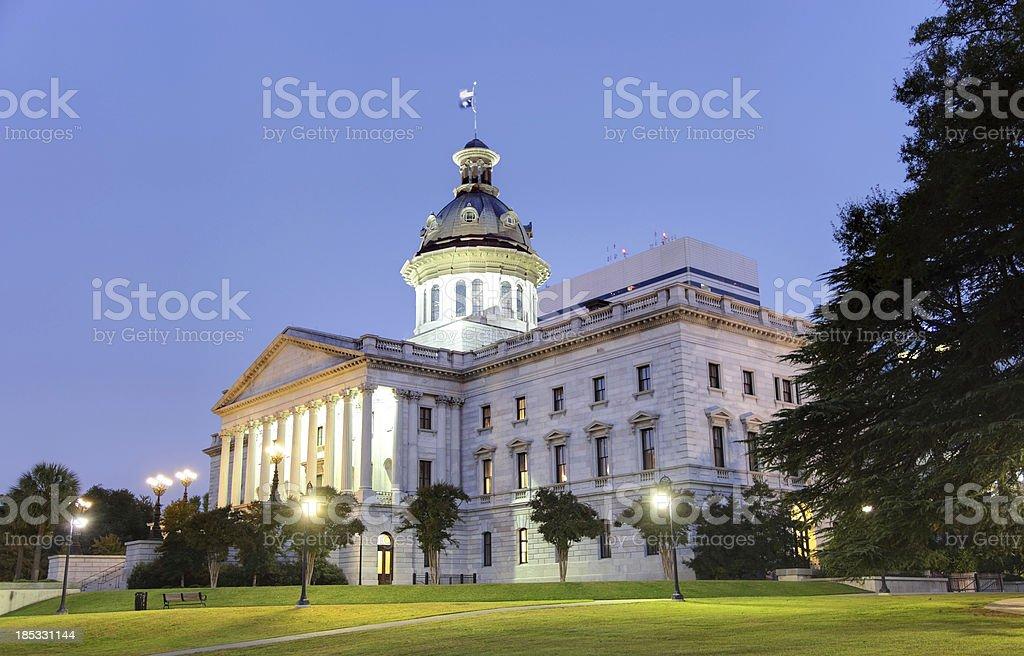 South Carolina State House stock photo