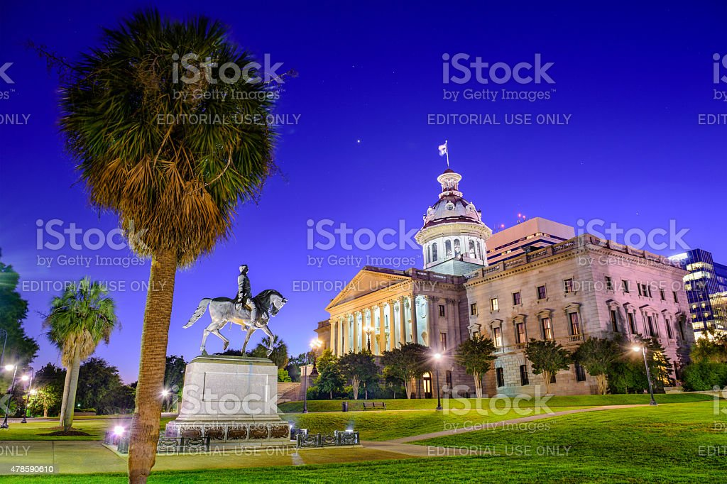 South Carolina State House stock photo