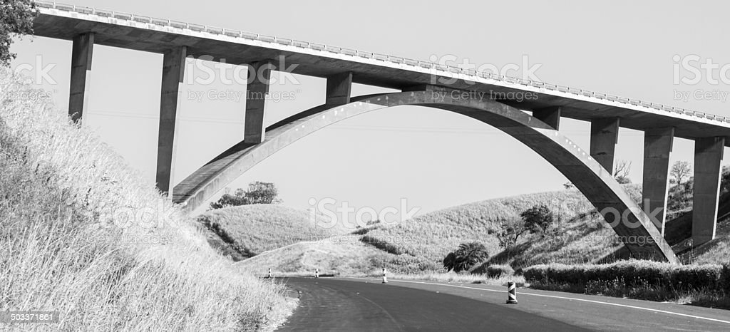 N2 South Coast in KwaZulu-Natal, South Africa royalty-free stock photo