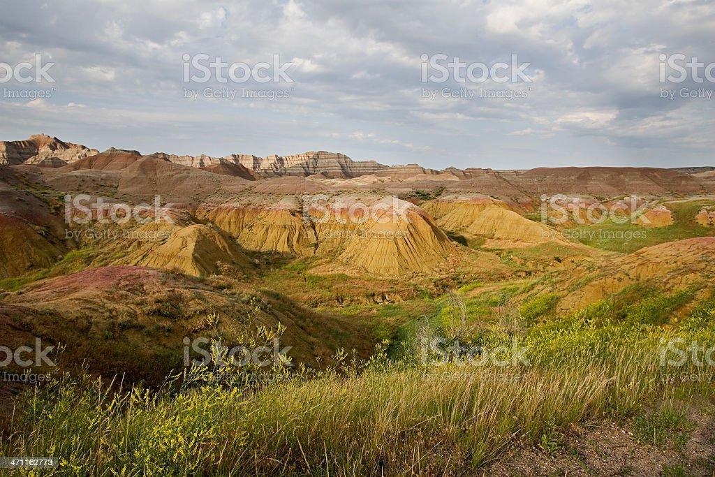 South Dakota Badlands royalty-free stock photo