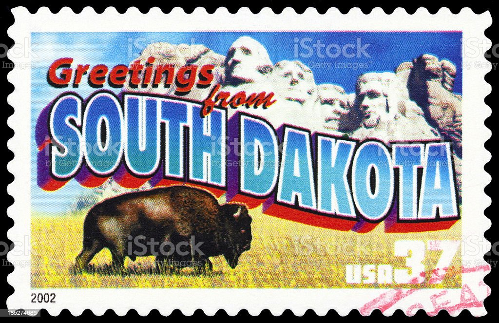 South Dakota stock photo