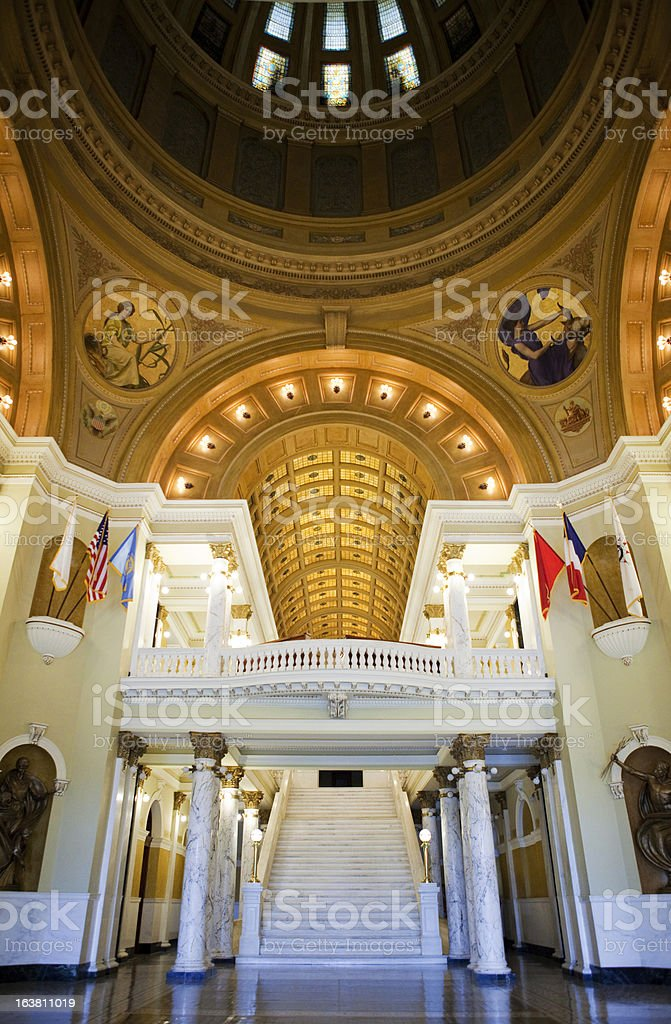 South Dakota State Capitol Building royalty-free stock photo