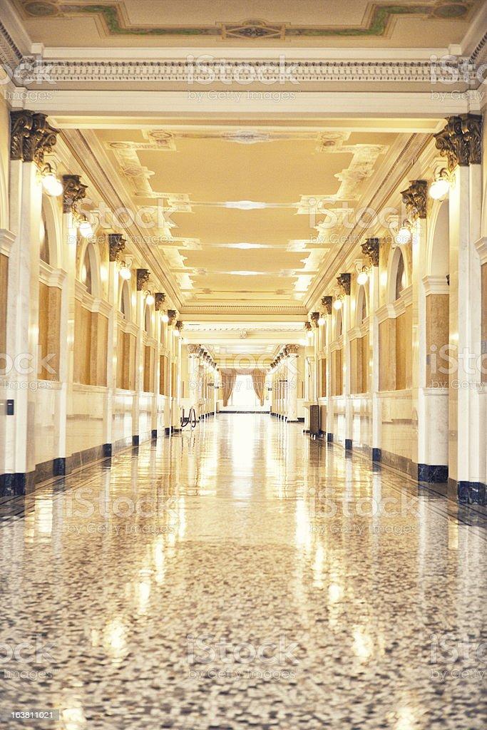 South Dakota State Capitol Building stock photo
