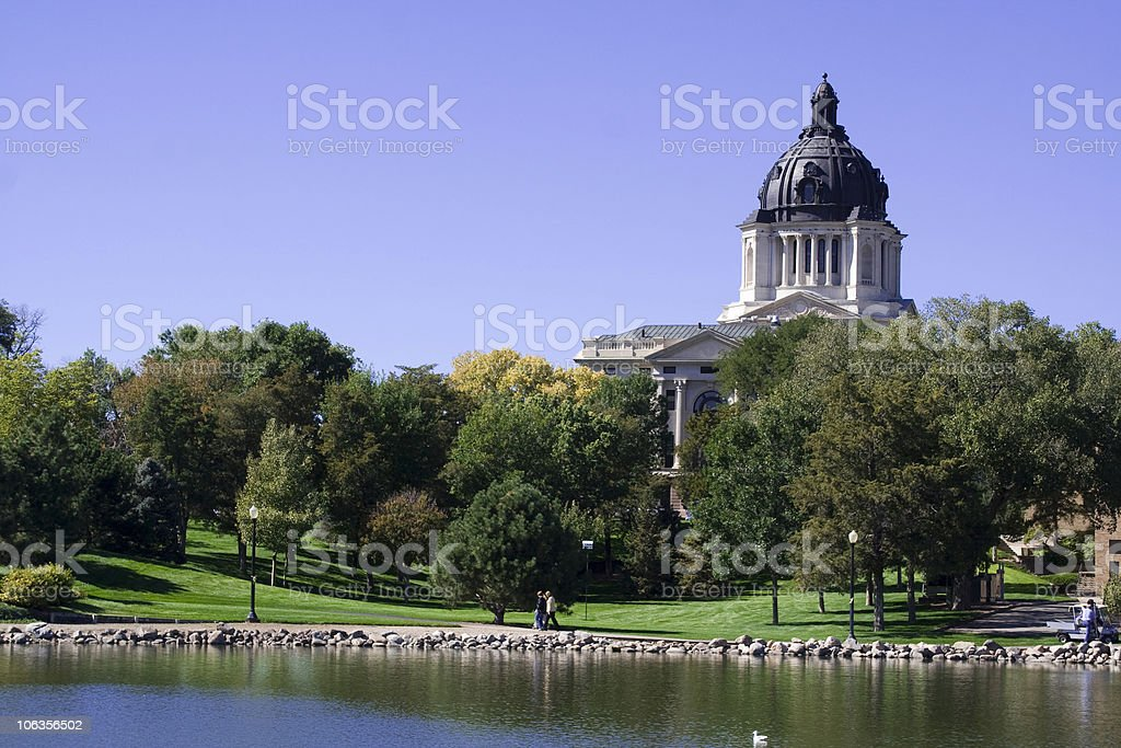 South Dakota State Capitol royalty-free stock photo