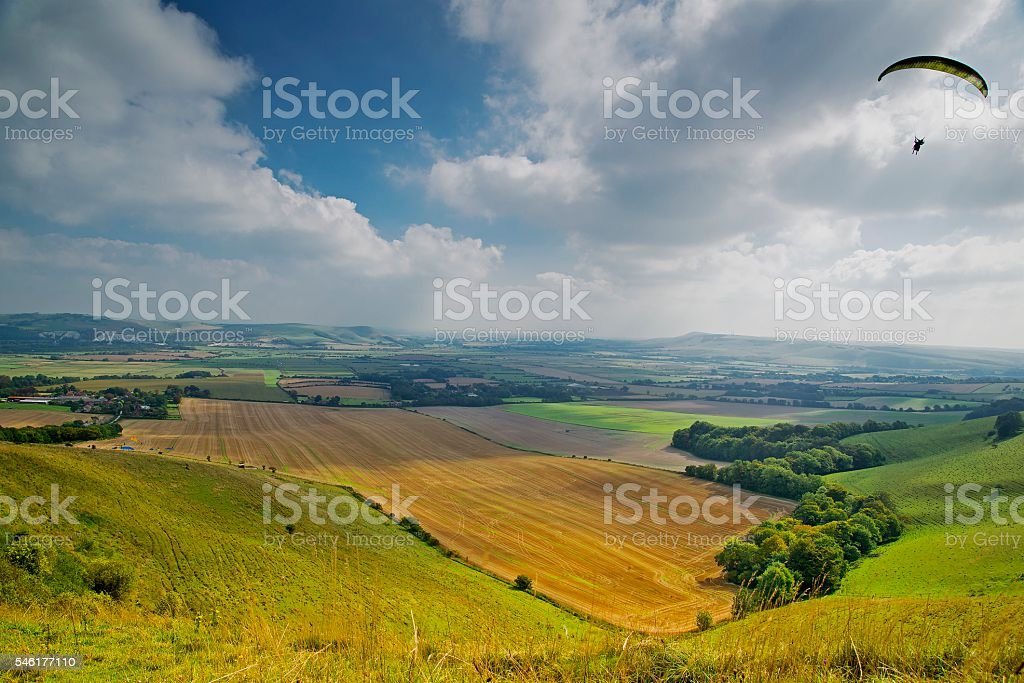 South Downs and The Weald stock photo