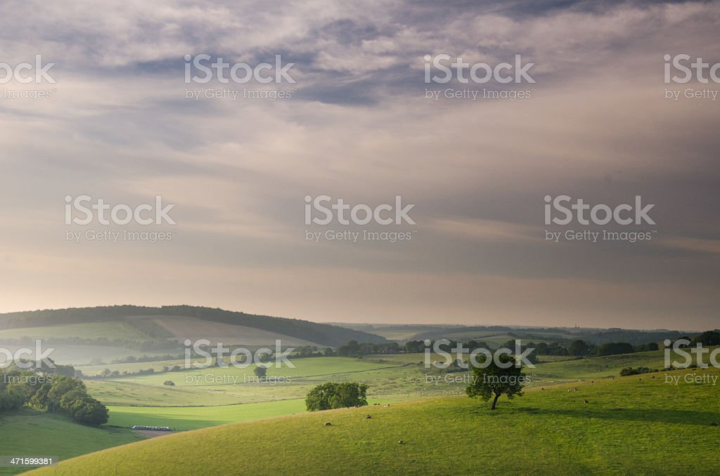 South Downs National Park stock photo
