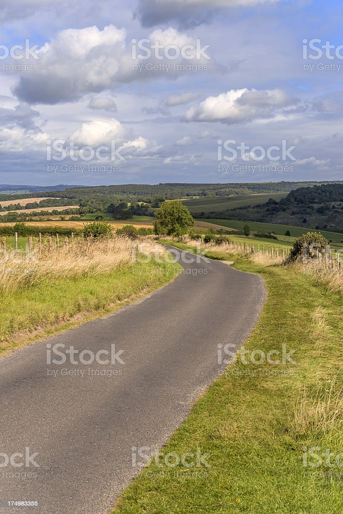 south downs stock photo