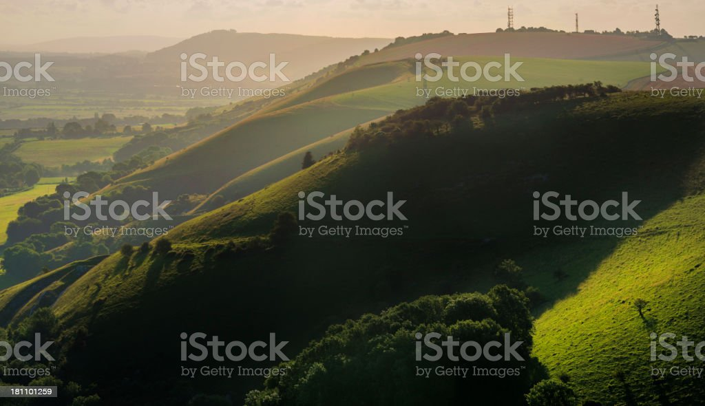 south downs royalty-free stock photo