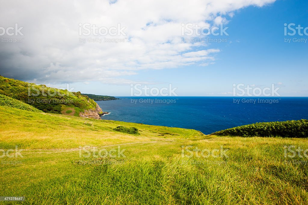 South East Coast Maui Hawaii stock photo