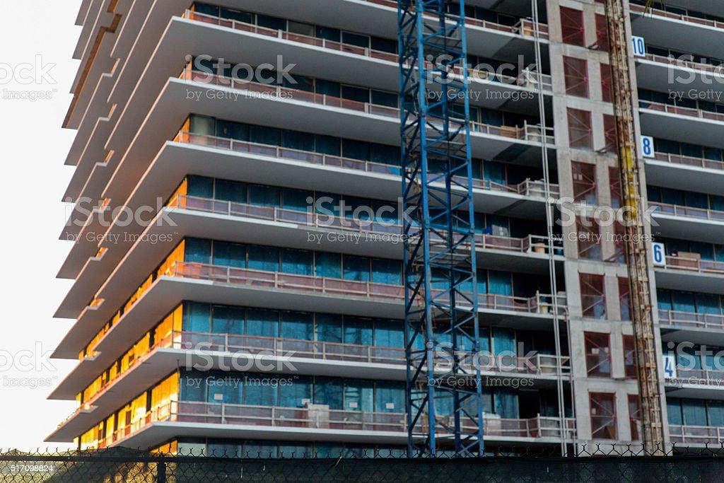 south florida construction stock photo