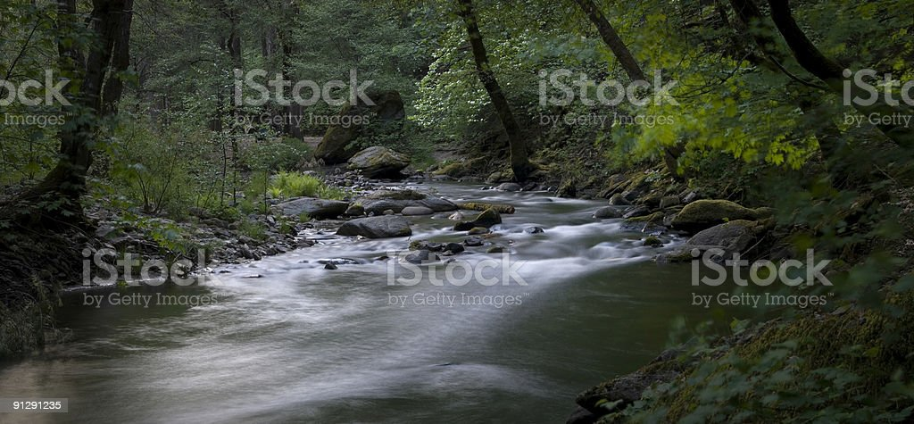 South Fork Tuolumne River royalty-free stock photo