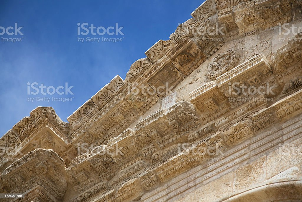 South Gate of Jerash stock photo