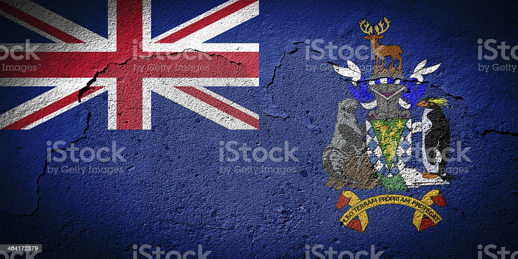 South Georgia and the Sandwich Islands stock photo