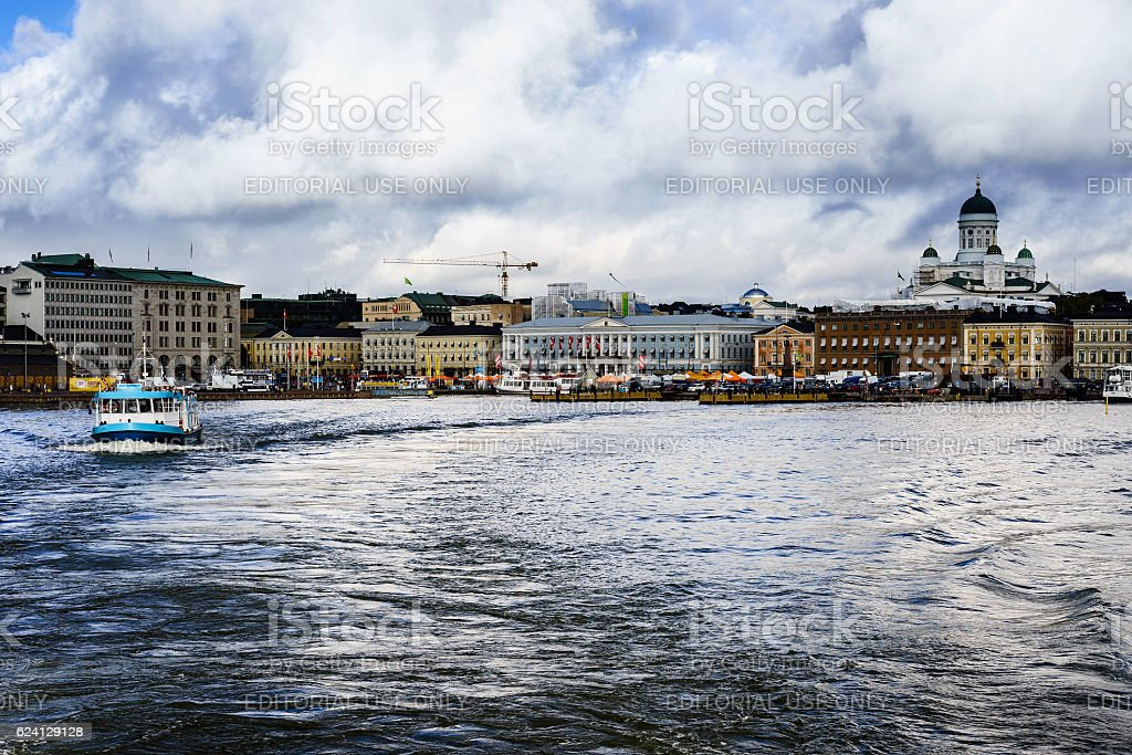 South Harbor, Helsinki, Finland stock photo