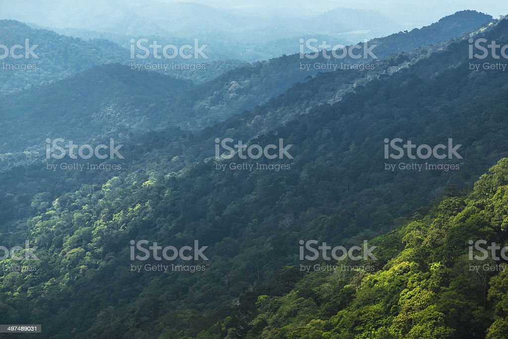 South Indian Hills stock photo