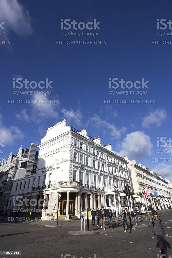 South Kensington in London, England royalty-free stock photo