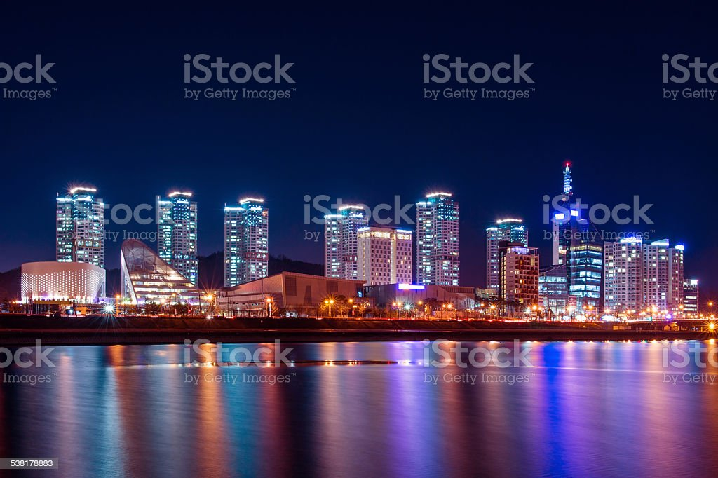 South Korea skyline stock photo