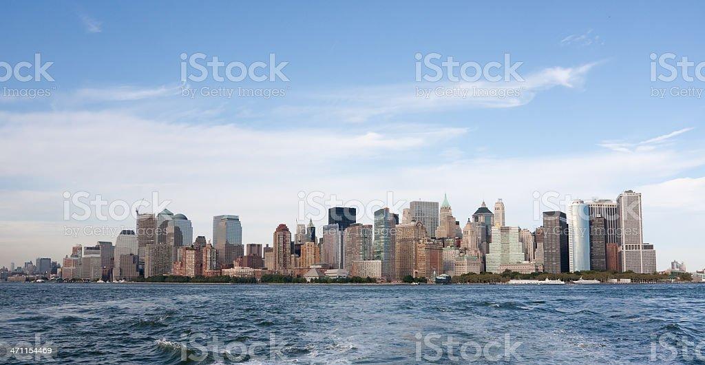 South Manhattan Skyline stock photo
