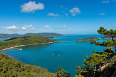 South Molle Island, part of the Whitsunday Islands in Australia