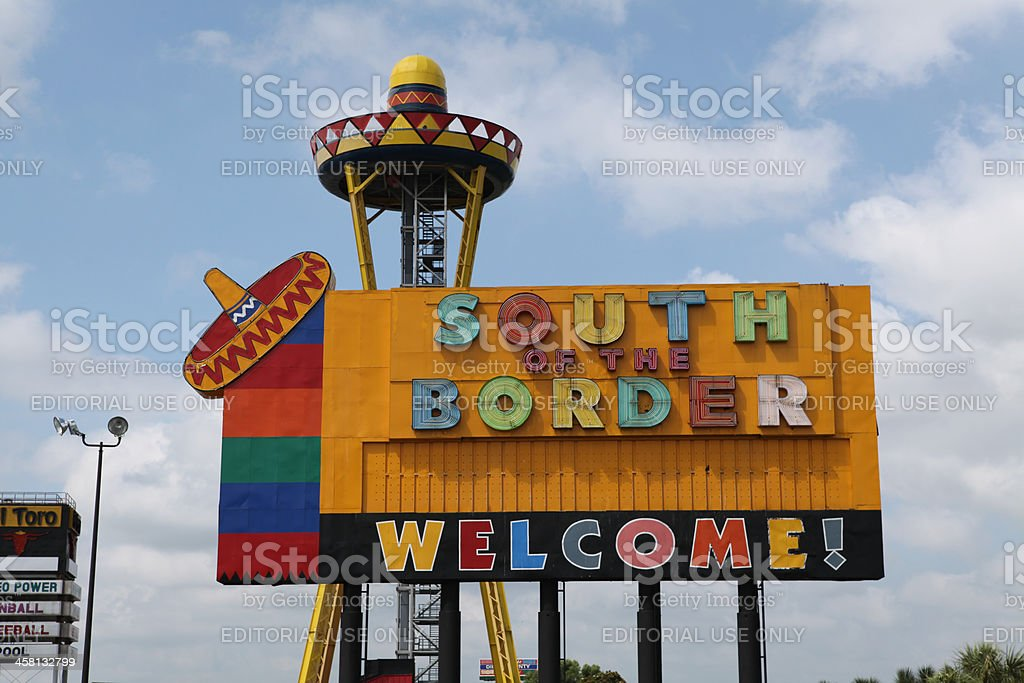 South of the Border royalty-free stock photo
