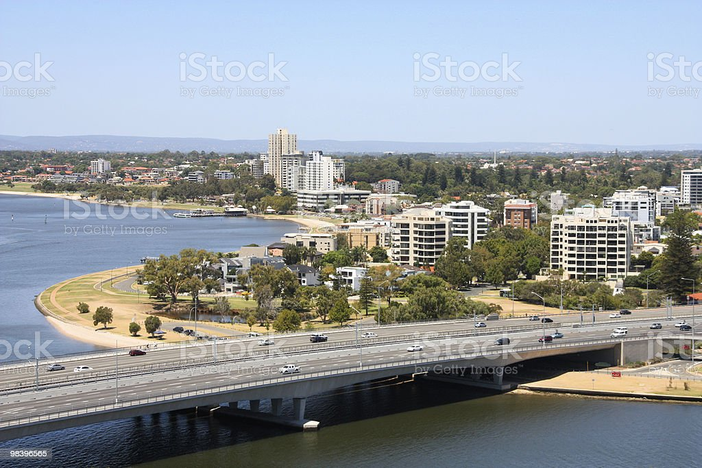 South Perth stock photo