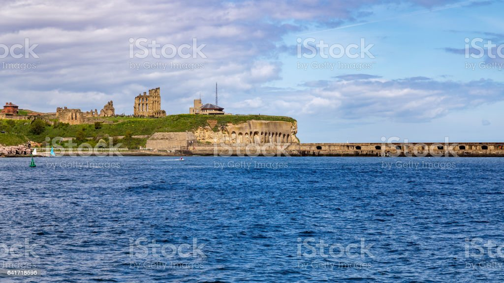 South Pier, South Shields, Tyne and Wear, UK stock photo