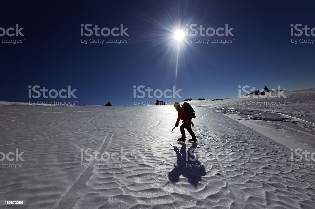 South Pole Expedition stock photo