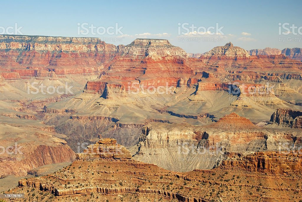 South rim of grand canyon in arizona royalty-free stock photo