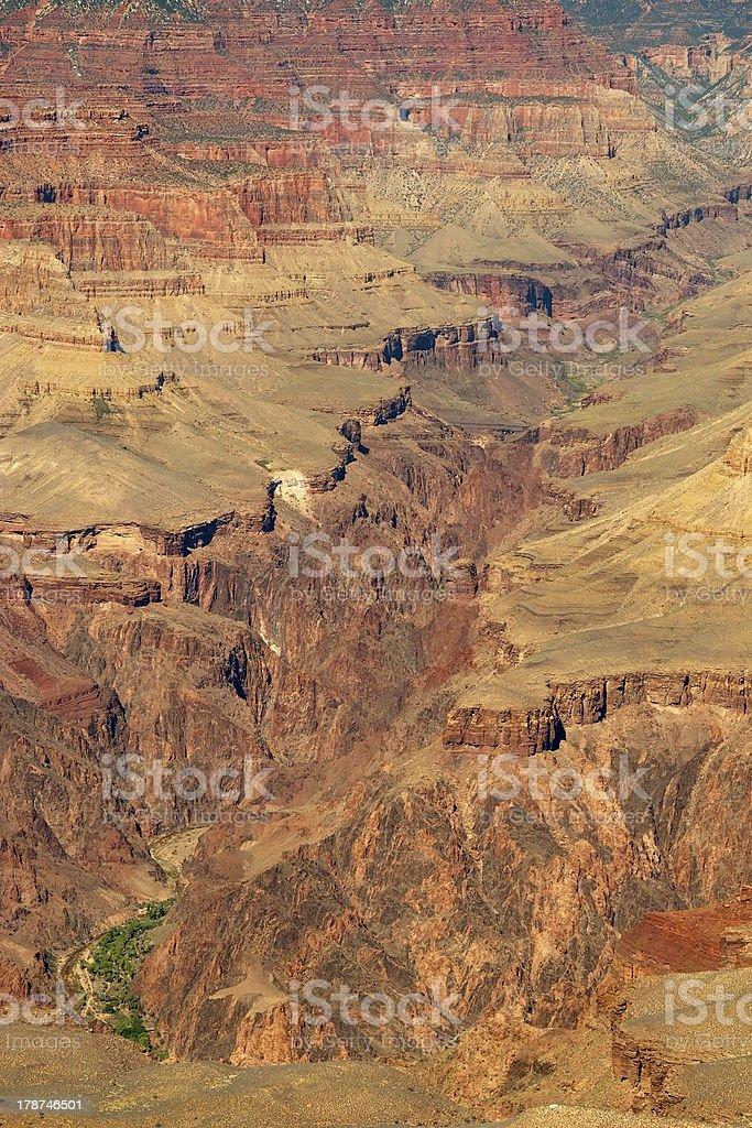 South rim of grand canyon in arizona royalty-free stock photo