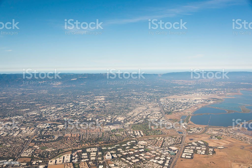 South San Francisco Bay stock photo