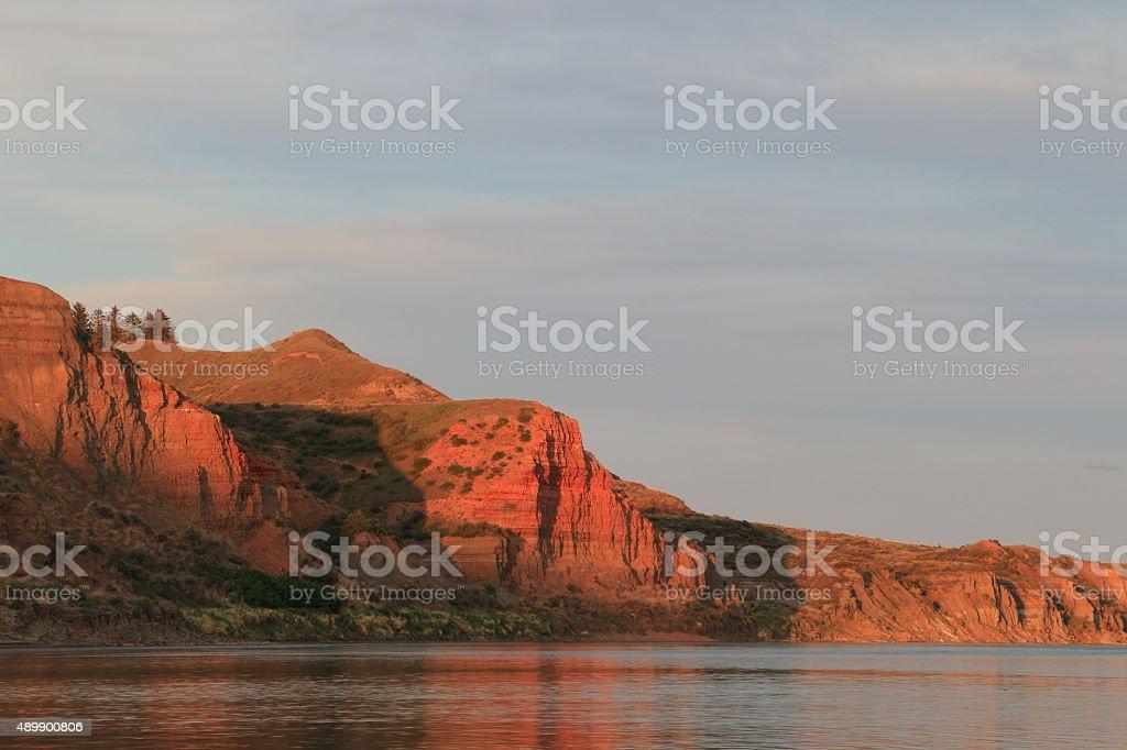 South Saskatchewan River stock photo