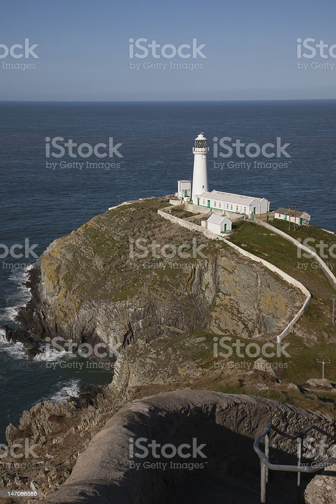 `South Stack Lighthouse stock photo