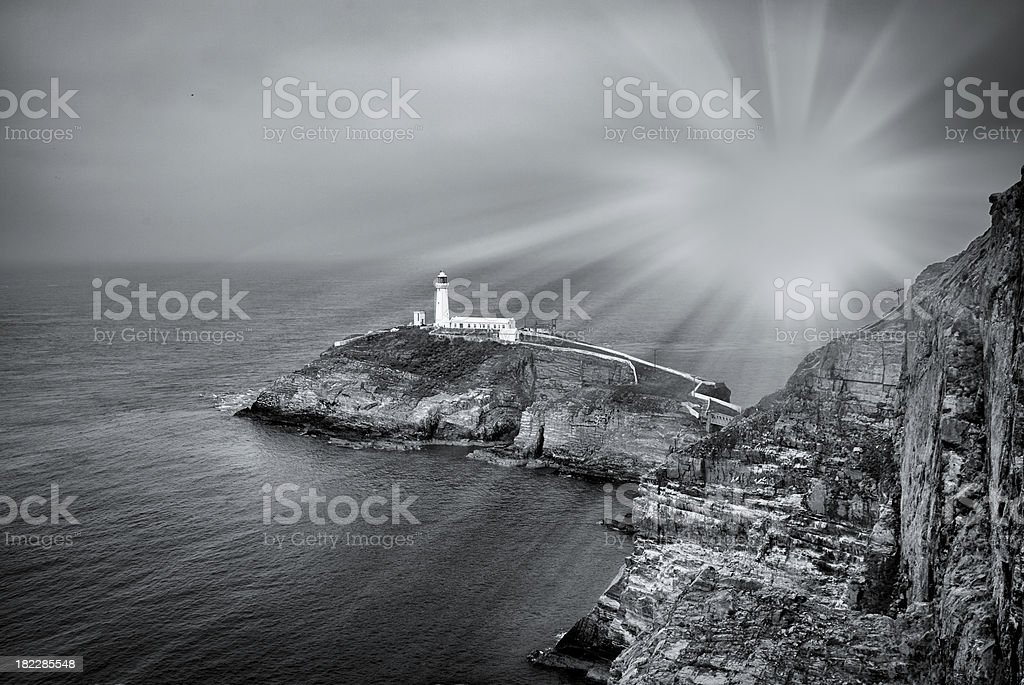 South stack lighthouse royalty-free stock photo