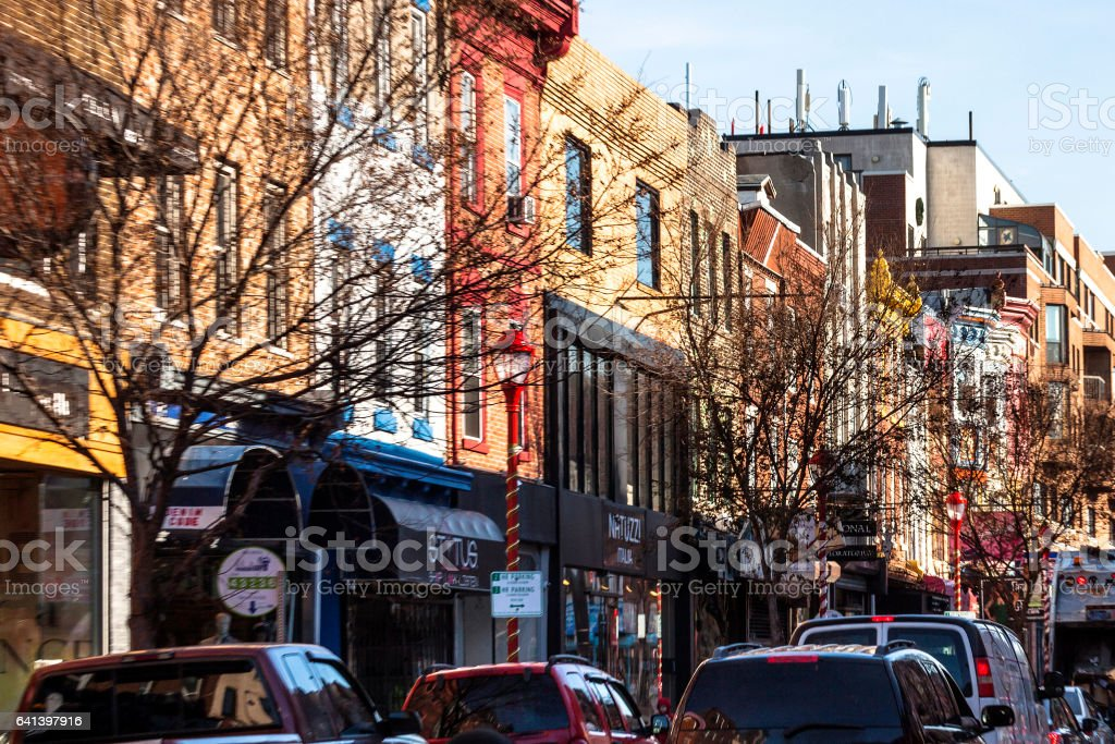 South Street, Philadelphia. stock photo