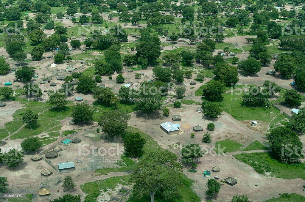South Sudan Landscape stock photo