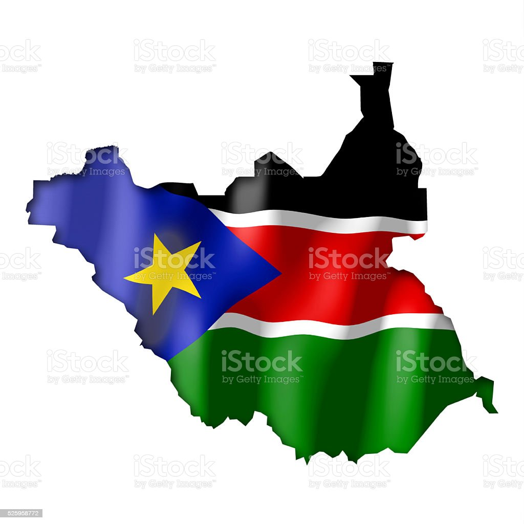 South Sudan stock photo