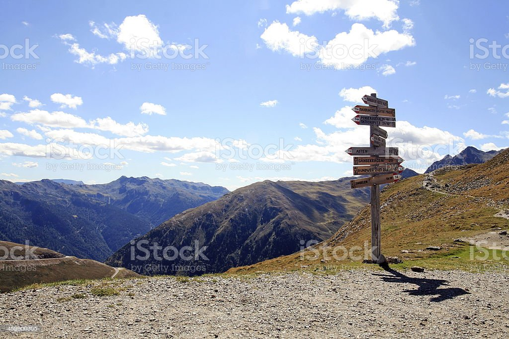 South Tirol stock photo
