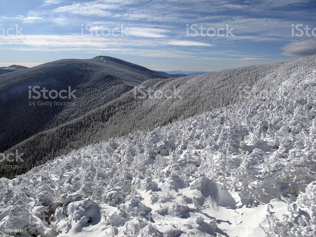 South Twin Mountain from the North stock photo