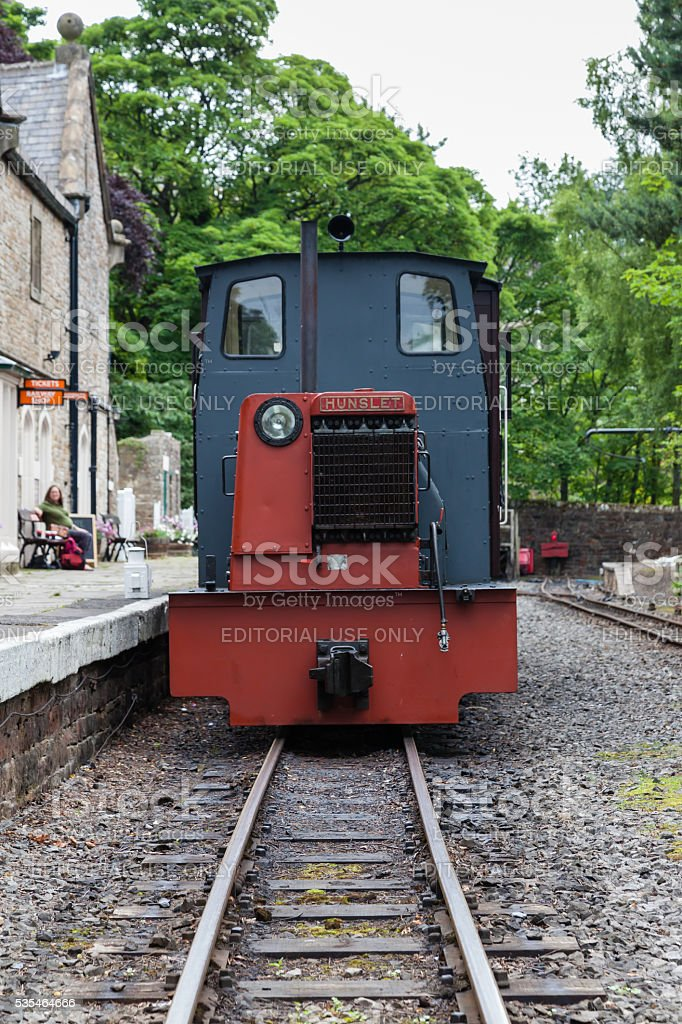 South Tynedale Railway stock photo