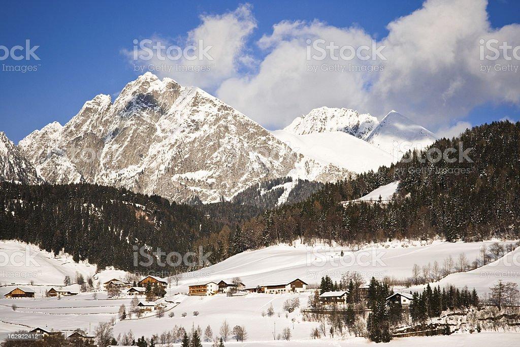 South Tyrol, Mount Ivigna stock photo