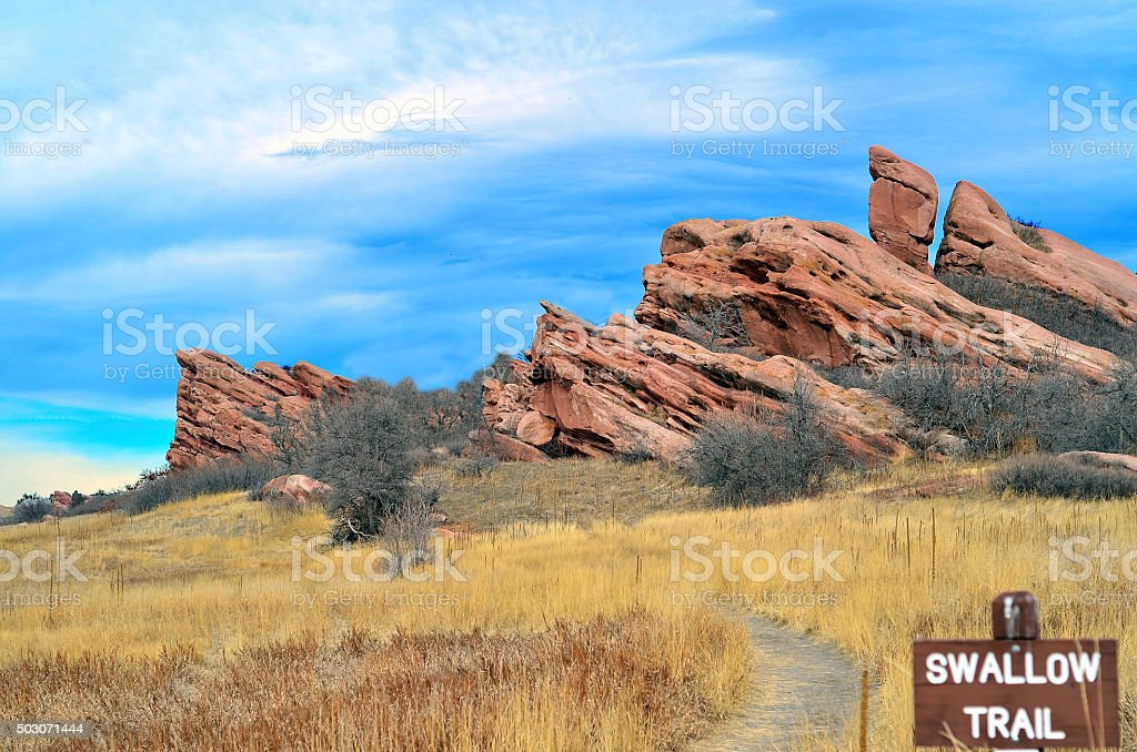 South Valley Open Space Park stock photo