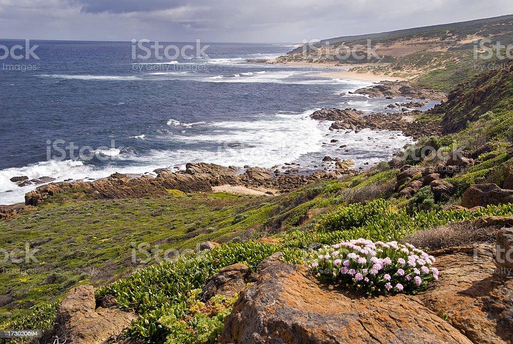 South Western Australian Coastine stock photo
