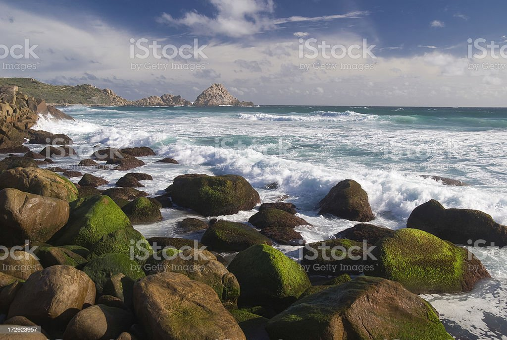 South Western Australian Coastline royalty-free stock photo